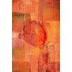 Parvez Taj 'Shrouded Rose' Graphic Art on Wrapped Canvas