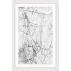 Marmont Hill Cracks Framed Graphic Art