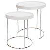dCor design Paroldo 2 Piece Nest of Tables