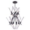 Wade Logan Winnett LED 24-Light Sputnik Chandelier