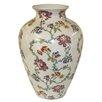 Castleton Home Thousand Flowers Crackle Glazed Vase