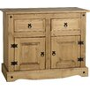 Andover Mills Corona 2 Door 2 Drawer Combi Chest