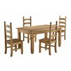 Andover Mills Corona Dining Set with 4 Chairs