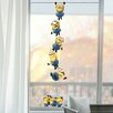 Imagicom 2-tlg. Fensterbilder-Set Minion Chain