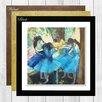 Big Box Art Dancers by Edgar Degas Framed Painting Print
