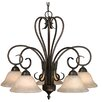 Alcott Hill Gaines 5-Light Shaded Chandelier