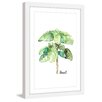 Marmont Hill 'Herb Basil' by Rachel Byler Framed Painting Print