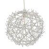 Pagazzi Lighting 23cm Glitz Sphere Pendant Shade