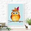 Dilemma Posters Wise Owl Paper Print