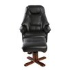 Home Loft Concept Swivel Recliner and Footstool