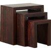 Three Posts Forestport 3 Piece Nest of Tables