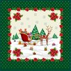 Home Ole Christmas Trineo Con Regalos Cushion Cover