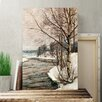 Big Box Art 'Birches in Early Spring' by Victor Westerholm Painting Print on Canvas