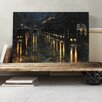 Big Box Art 'Train Station' by Lesser Ury Painting Print on Canvas