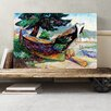 Big Box Art 'Indian War Canoe' by Emily Carr Painting Print on Canvas