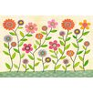 """Marmont Hill """"Summer Blooms"""" by Sascalia Painting Print on Wrapped Canvas"""