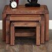 Baumhaus Shiro Range 3 Piece Nest of Tables