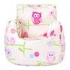 Castleton Home Owls Bean Bag Chair