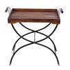 Ethnic Elements Kerala Sheesham Tray Table