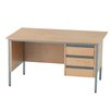Lee & Plumpton Galaxy Writing Desk with 3 Drawers