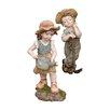 Design Toscano 2 Piece Fanny and Frank Farmer Statue Set