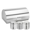 SQProfessionalLtd 4-Piece Canister Set and Bread Bin