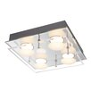 Home Loft Concept Alexia 4 Light Flush Ceiling Light