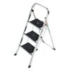 Hailo K30 3-Step Aluminium Step Stool with 159kg Load Capacity