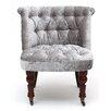 Castleton Home Shannon Crushed Velvet Slipper Chair