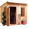 Mercia Garden Products 8 x 6 Wooden Shiplap Storage Shed