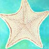 "Marmont Hill ""Starfish Dots"" by Nicola Joyner Painting Print Canvas Art"
