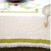 Home Loft Concept Stripe Border Slub Tablecloth