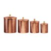 Mint Pantry Caraway 4 Piece Kitchen Canister Set
