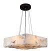 Worldwide Lighting Pompeii 4-Light Geometric Pendant