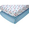 Disney Mickey Fitted Crib Sheet (Set of 2)