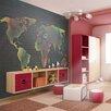Artgeist Map (for Children) 1.93m x 250cm Wallpaper