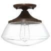 Laurel Foundry Modern Farmhouse Arthur 1-Light Semi Flush Mount