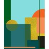 Marmont Hill 'City on a Hill I' by Keren Toledano Graphic Art on Wrapped Canvas