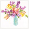 Marmont Hill 'Tropical Blooms' by Julie Joy Framed Painting Print