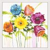 Marmont Hill 'Cheery Bloomers I' by Julie Joy Framed Painting Print