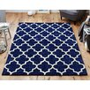 Latitude Vive Oxon Hand-Tufted Blue Rug