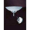 Franklite Fizz 1 Light Semi-Flush Wall Light