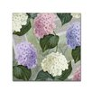 Trademark Fine Art 'Hortensia Soft Green' by Color Bakery Graphic Art on Wrapped Canvas