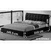 Hokku Designs Upholstered Sleigh Bed