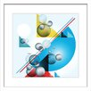 Marmont Hill 'Kinetic Design' Framed Graphic Art on Canvas
