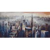 Metro Lane Wall Décor City Dusk Art Print on Wrapped Canvas
