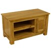 Hazelwood Home Solid Oak TV Stand for TVs up to 36""
