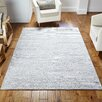 August Grove Ned Hand-Woven Silver Rug