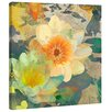 Marmont Hill 'Lilies Under a Bridge' by Evelia Painting Print on Wrapped Canvas