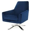 Wade Logan Edmund Swivel Club Chair